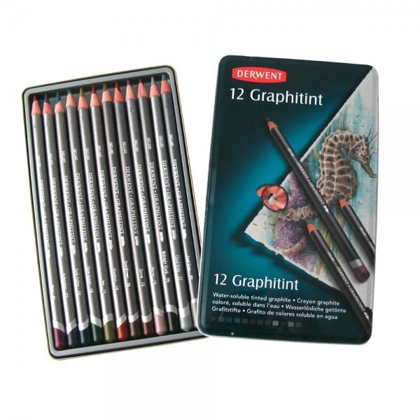 Derwent молив Графитинт комплект 12 цв