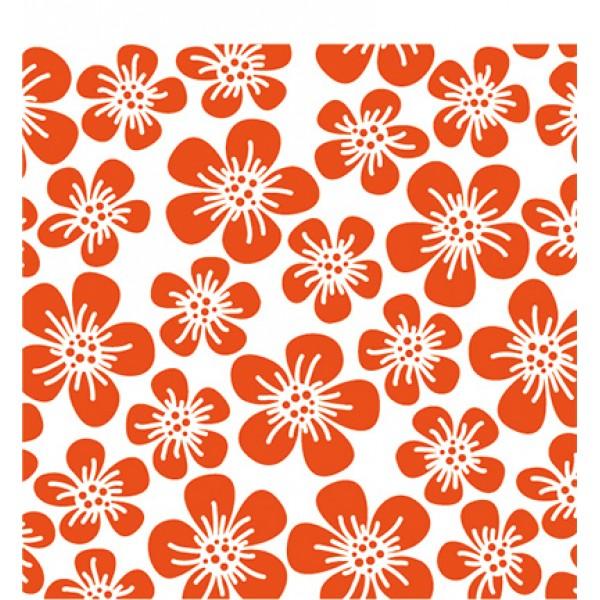Папка за релеф 12x12cm - Marianne design - Flowers