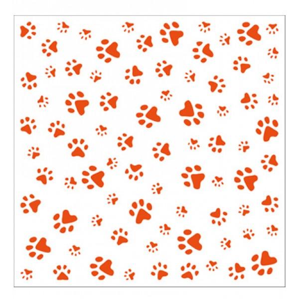 Папка за релеф 14.5x14.5cm - Marianne design - Paws