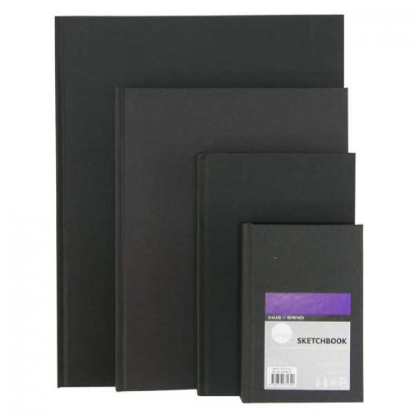 Daler Rowney скицник Simply 14*21 cm Sketchbook шит