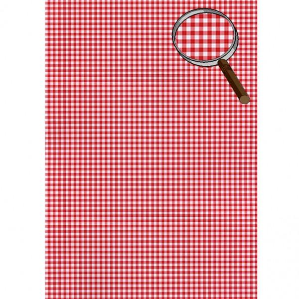 Heyda картон Happy Papers A4 23-каре червен