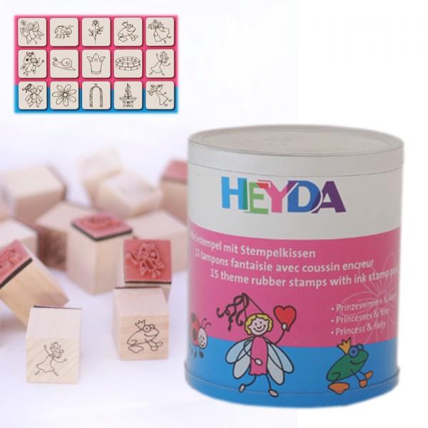 Heyda печати 15+1 бр - 87-Принцеси и феи
