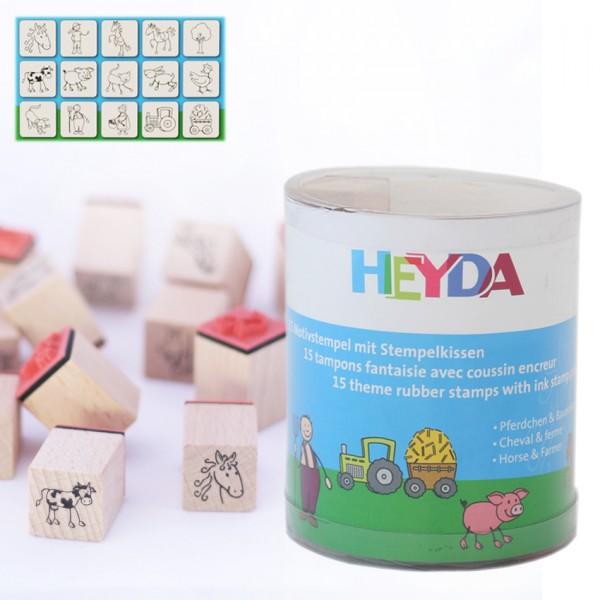 Heyda печати 15+1 бр - 88-Ферма