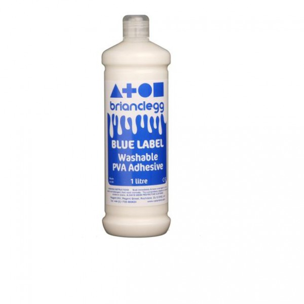 Brianclegg PVA лепило Blue Label 1000 ml