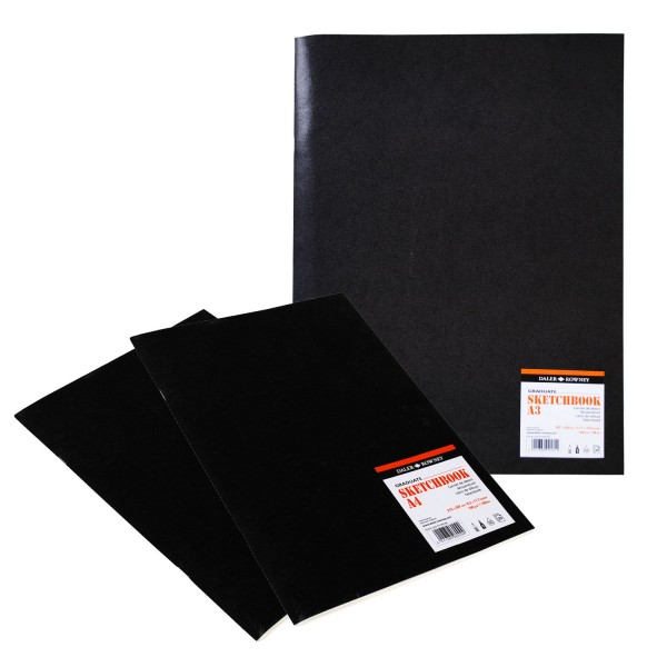 Daler Rowney скицник Graduate Sketchbook A4 телчета 160 g, 20 л