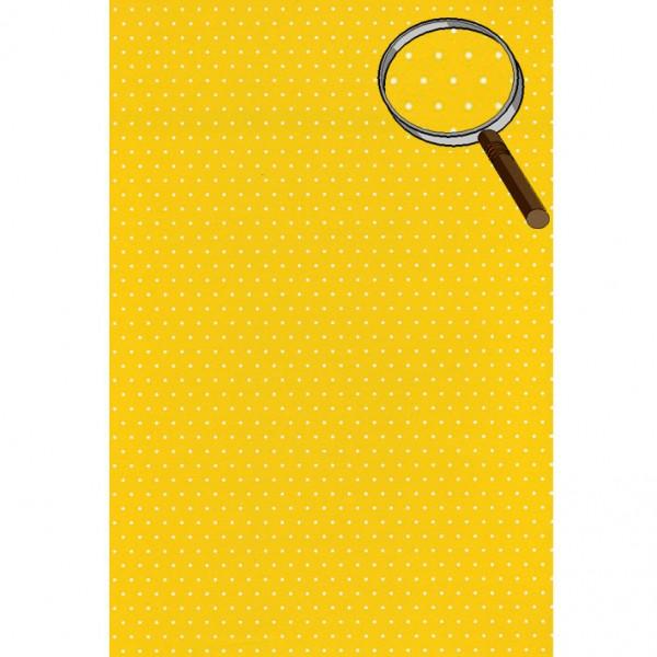 Heyda картон Happy Papers A4 01-точки жълт