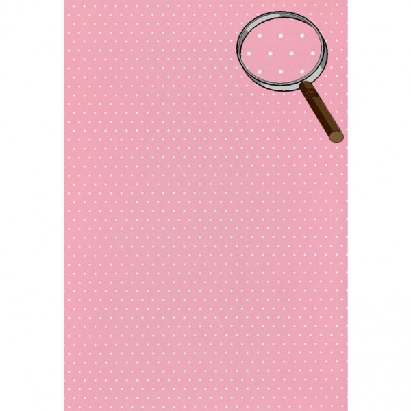 Heyda картон Happy Papers A4 02-точки розов