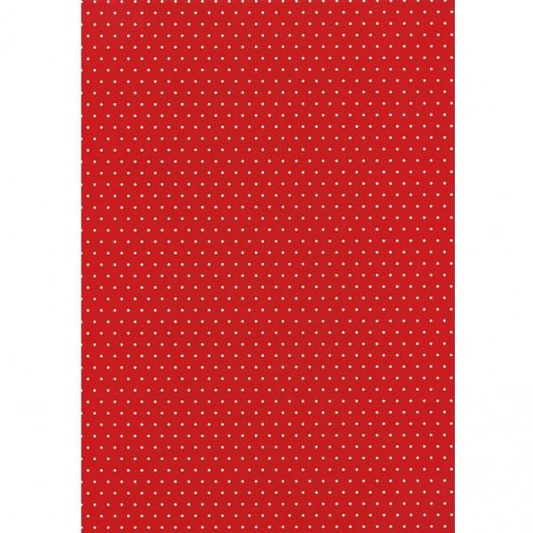 Heyda картон Happy Papers A4 03-точки червен
