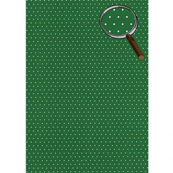 Heyda картон Happy Papers A4 07-точки т. зелен