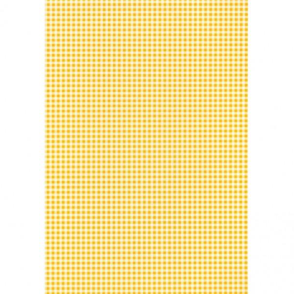 Heyda картон Happy Papers A4 21-каре т. жълт