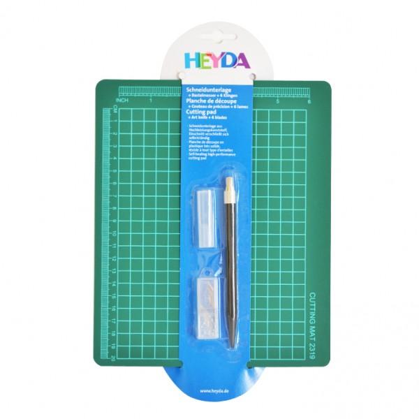 Heyda комплект скалпел и подложка 19*23 cm