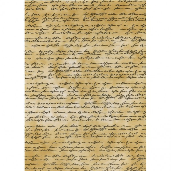 Heyda паус с мотиви A4, 37-Ръкопис кафяв