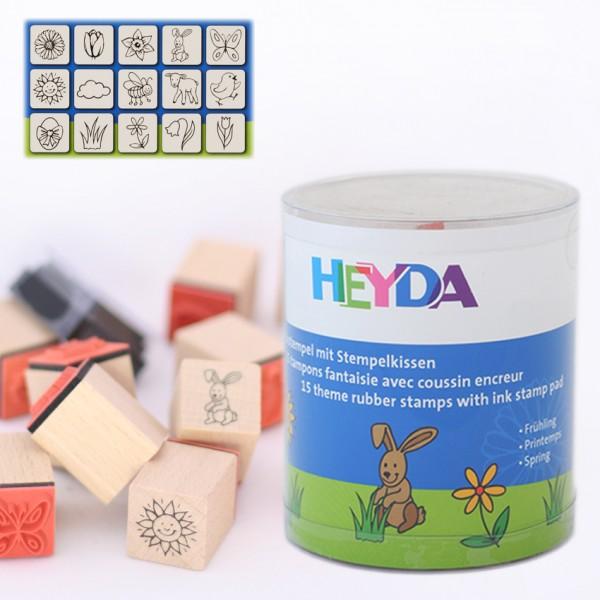 Heyda печати 15+1 бр - 84-Пролет