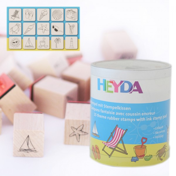Heyda печати 15+1 бр - 90-Ваканция