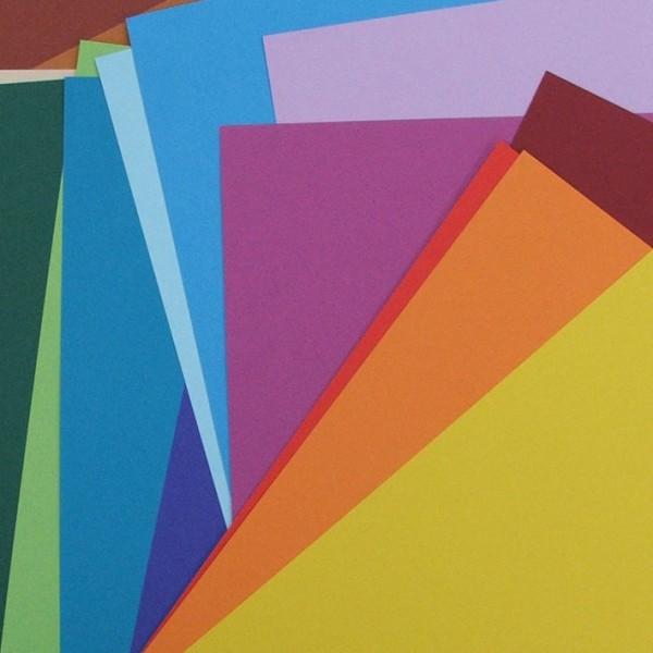 Heyda рециклирана цветна хартия A4 130g, 1 лист