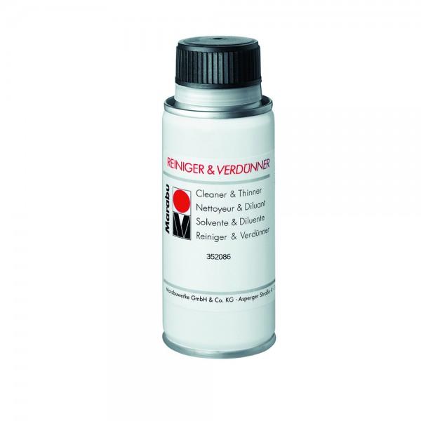 Marabu Cleaner & Thinner - Разредител и чистител 100 ml