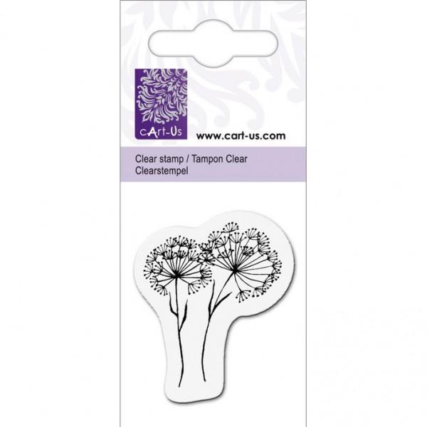 KPC печат силиконов 1010, диви цветя, 5х6 cm