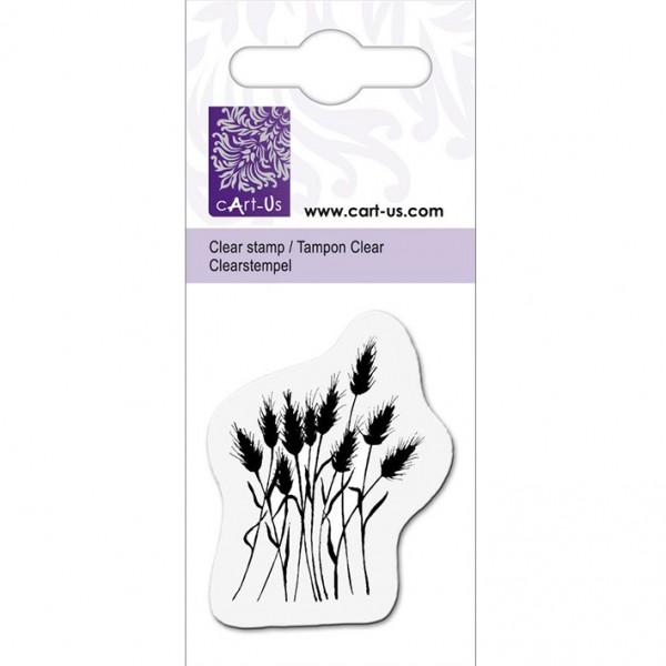 KPC печат силиконов 1017, цъфнала трева, 5х6 cm