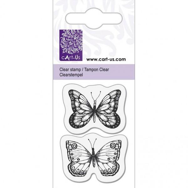 KPC печат силиконов 1057, 2 пеперуди, 5х6 cm