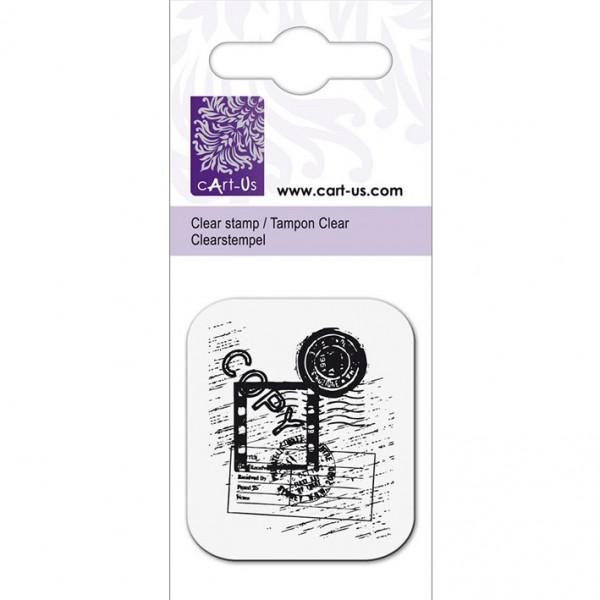 KPC печат силиконов 1084, пощенски марки, 5х6 cm