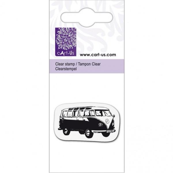 KPC печат силиконов 2070, ретро автобус, 5х6 cm