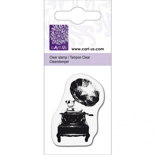 KPC печат силиконов 2074, грамофон, 5х6 cm