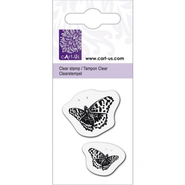 KPC печат силиконов 2077, пеперуди в полет, 5х6 cm
