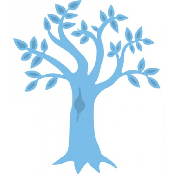 Универсален шаблон за изрязване и релеф - Creatable - Tree