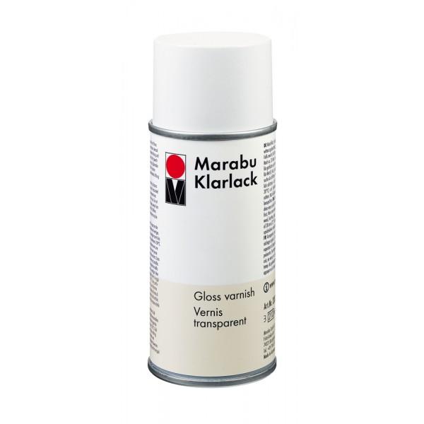 Marabu лак 400 ml КЛАРЛАК гланц аерозол