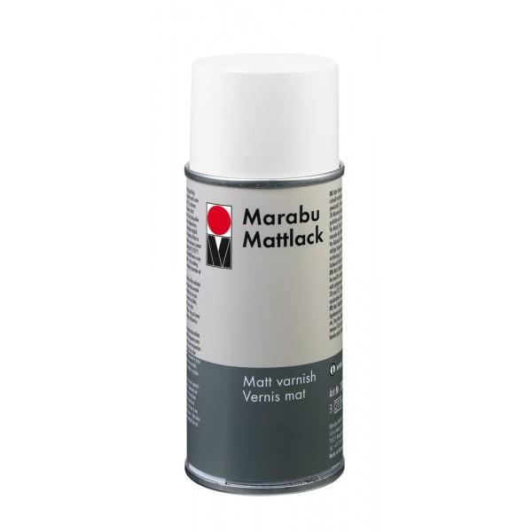 Marabu лак 400 ml МАТЛАК аерозол