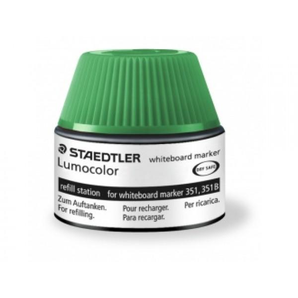 Мастило 488 51 за маркер за бяла дъска 20 мл - зелено
