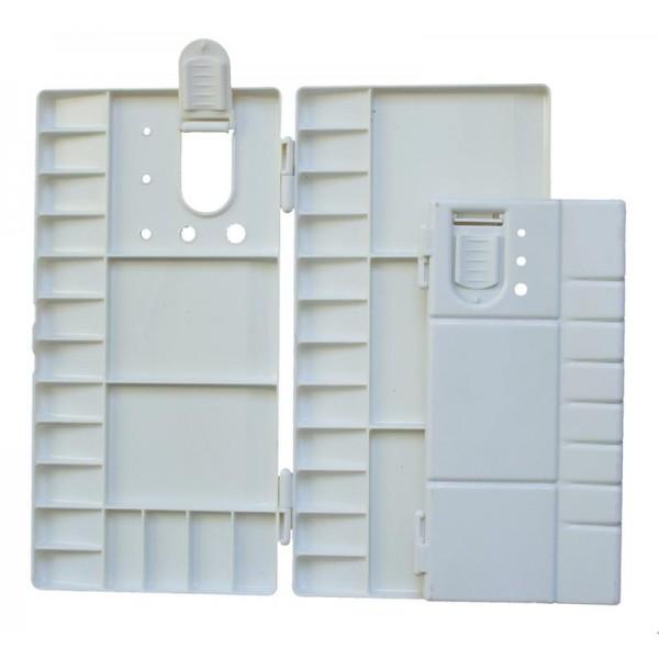 Палитра PVC кутия за акварел 14*26 cm