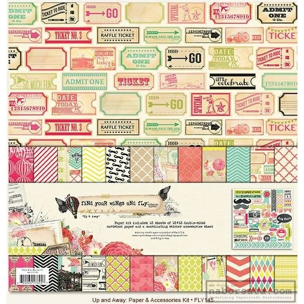 Paper and Accessories Kit 12x12inch - 13 части