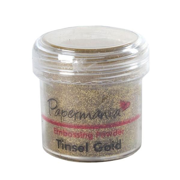 Papermania - Ембосинг пудра - Tinsel Gold