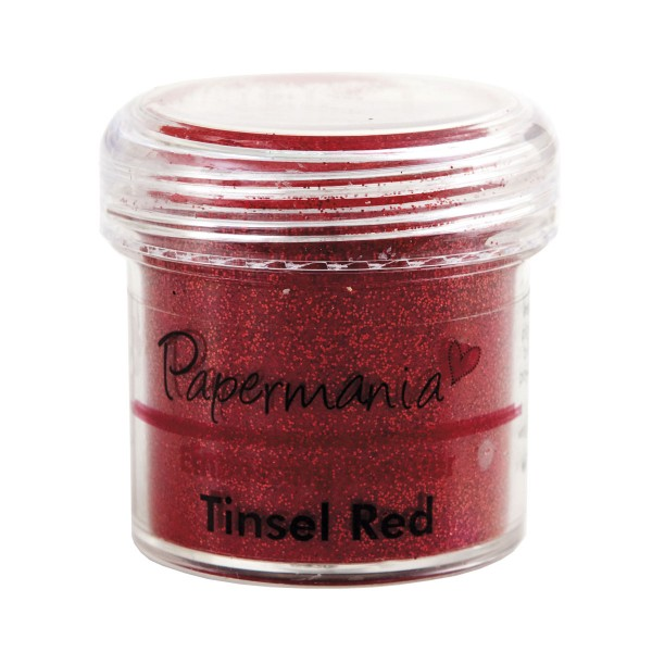 Papermania - Ембосинг пудра - Tinsel Red