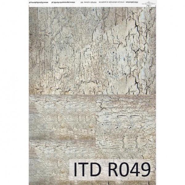Оризова хартия за декупаж - A4 25gr - ITD Collection R049