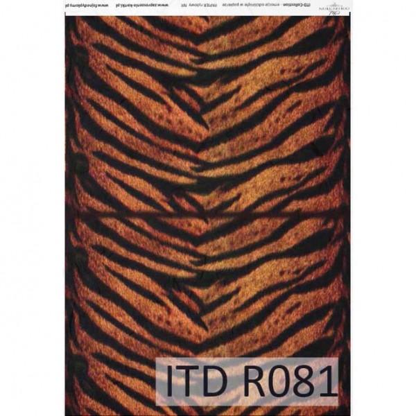 Оризова хартия за декупаж - A4 25gr - ITD Collection R081