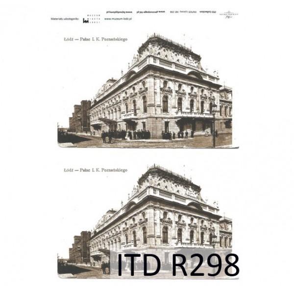 Оризова хартия за декупаж - A4 25gr - ITD Collection R298