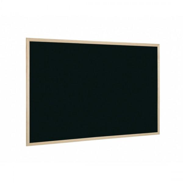 Черна дъска с дървена рамка - 40x60см