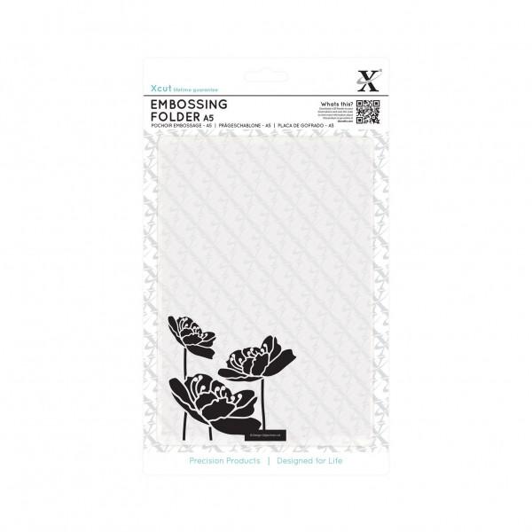 Папка за релеф A5 - Large Blossom