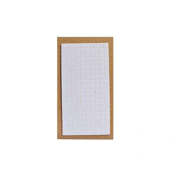 YHM двойнолепящи обемни квадратчета 8 по 8 mm, 200 бр