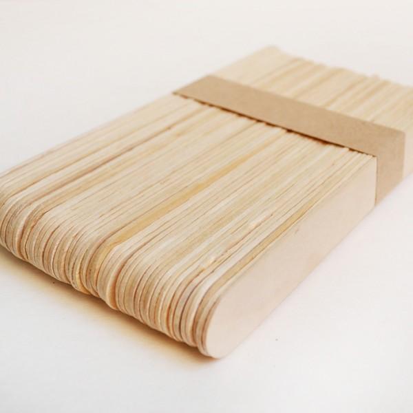 YHM дървени пръчици 18*150 mm, натурални, 50 бр