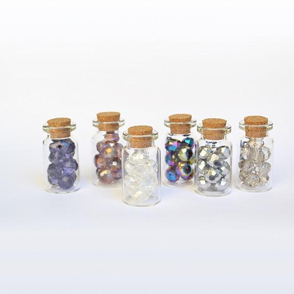 YHM кристал 10 mm, 10 бр в бурканче
