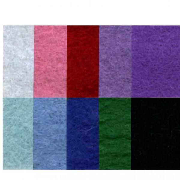 Слънчоглед филц 3 mm, A4, 5 листа от един цвят