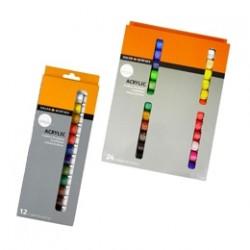 Акрилни бои в комплекти