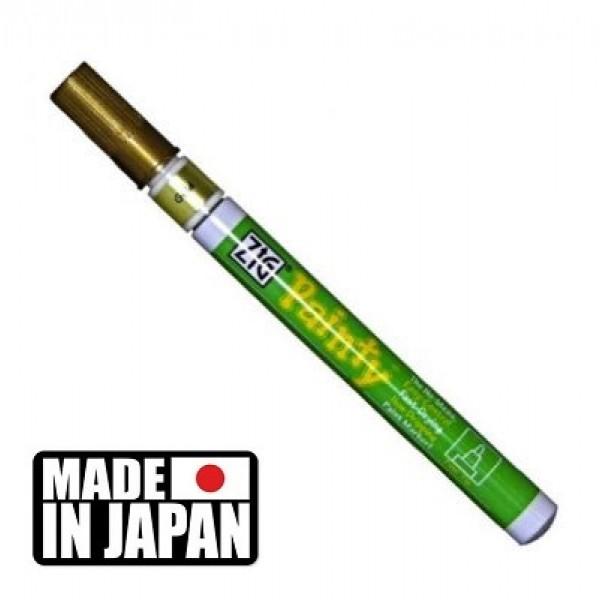 ZIG PAINTY FINE - маркер ТЕЧНО ЗЛАТО 1,2 мм. Made in Japan