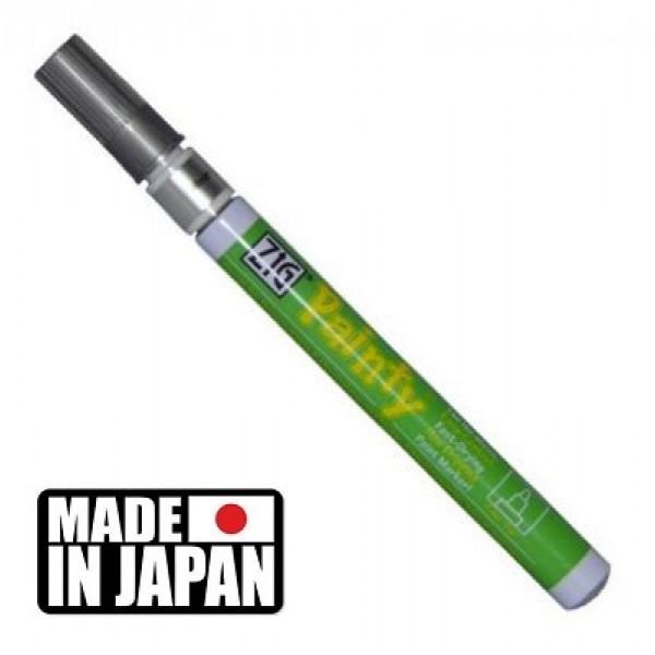 ZIG PAINTY FINE SILVER - маркер ТЕЧНО СРЕБРО 1,2 мм. Made in Japan