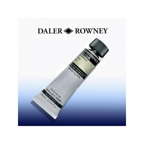 Daler Rowney ИНТЕРФЕРЕНТЕН медиум - Gold - 75 ml