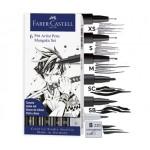 Комплекти Manga&Comic-PITT Artist Pen 6 бр - Mangaka