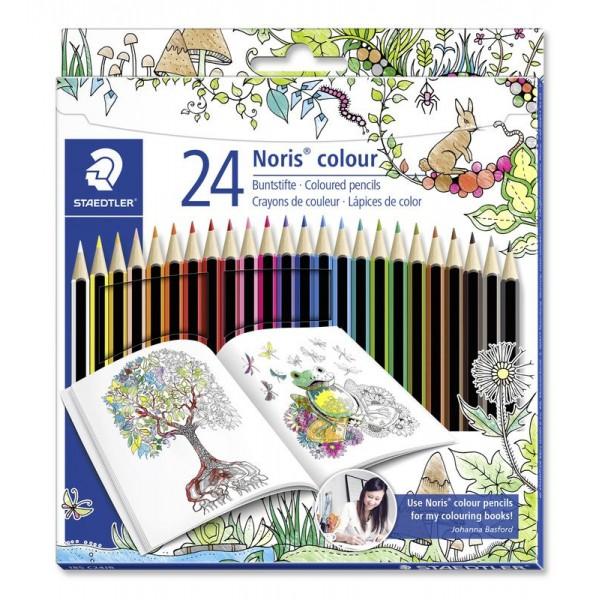 Цветни моливи 24цв. Staedtler Noris colour